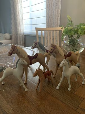 Vintage Little Tikes Horses for Stable for Sale in Rancho Cucamonga, CA