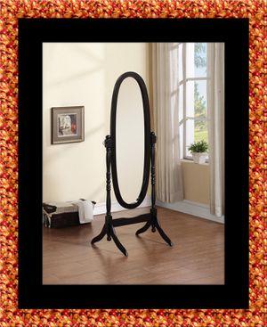 Black swivel oval mirror for Sale in Fairfax, VA