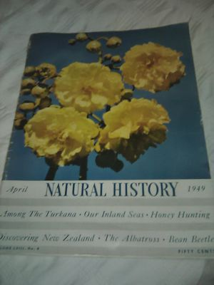 Natural History Magazine from 1949 for Sale in City of Industry, CA