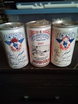 Vintage Pepsi cans for Sale in Charlottesville, VA