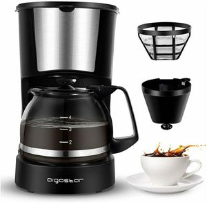 4 Cup Coffee Maker with Coffee Filter and Glass Carafe for Sale in Miami, FL