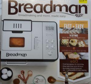 Breadman Bread Maker Machine for Sale in Glendale, AZ