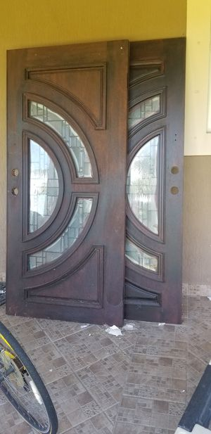 Mahogany French doors for Sale in Homestead, FL