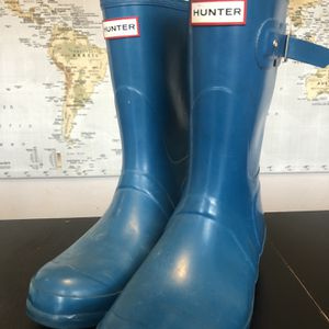 Nearly New Hunter Rain Boots Women's Size 9 for Sale in Seattle, WA