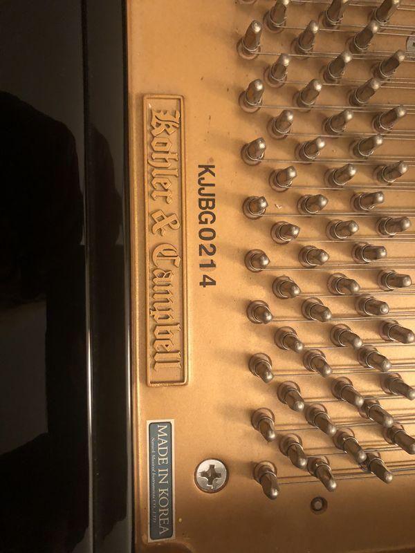 Kohler & Campbell Piano