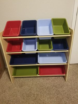 Kids Toy box/ holder $20 for Sale in Arlington, TX