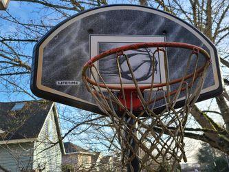 Free Working Basketball Hoop for Sale in Portland,  OR