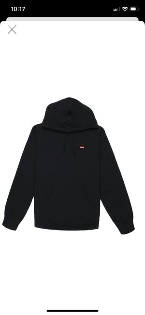 Supreme small box logo hoodie black Large DS for Sale in Seattle, WA