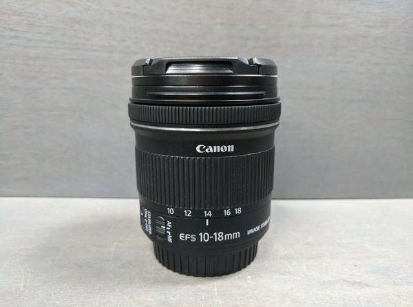 CANON EF-S 10-18 MM F/4.5-5.6 IS STM LEN (LIKE NEW)