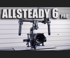 Turbo Ace Allsteady 6 3 axis brushless camera gimbal for Sale in Tacoma, WA