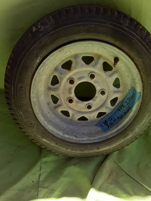 $40 . 00 / 4 x 80 x12 Trailer Rim and Tire 4 ply for Sale in Tucker, GA