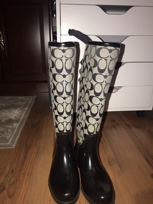 Coach Rainboots for Sale in Dunn, NC