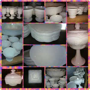 Antique Milk Glass for Sale in Columbus, OH