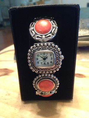 Watch bracelet pink silver womens for Sale in Nashville, TN