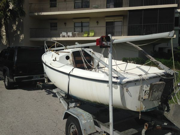 Compac 16 Sailboat and Trailer for Sale in Tarpon Springs, FL - OfferUp