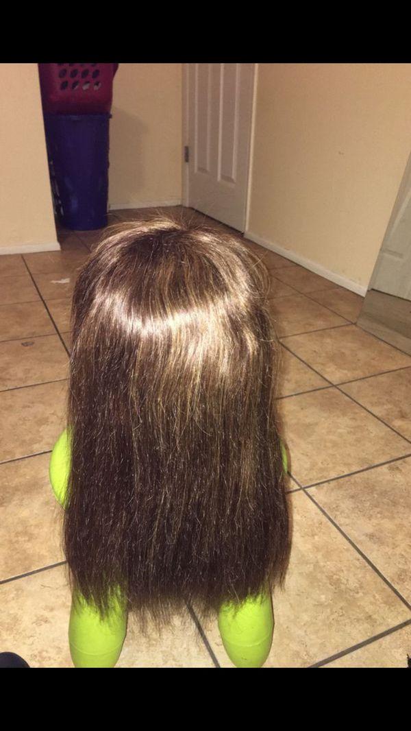 100% human hair hairart mannequin