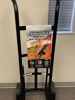 Milwaukie 1,000 lbs. Capacity Dual-Handle Hand Truck for Sale in Happy Valley,  OR