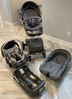 Stokke xplory stroller with all the accessories for Sale in Glen Head, NY