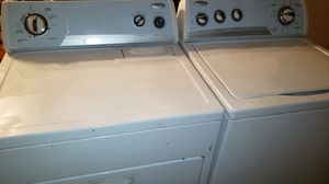WASHER AND DRYER WHIRLPOOL WORKS GREAT CAN DELIVER for Sale in Lancaster, CA
