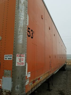 Wabash 53ft trailer for sale año 99 good condition ready to work for Sale in Perris, CA