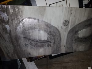 4ft x 2 ft feet buddha eyes new frame picture hang for Sale in Stockton, CA