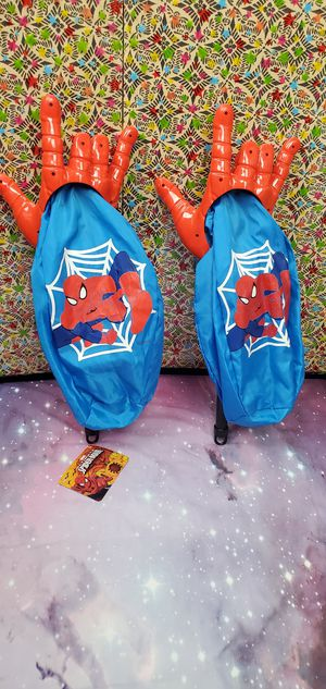 Halloween Spiderman Loot Scoop Bag, good for social distance for Sale in Santa Ana, CA