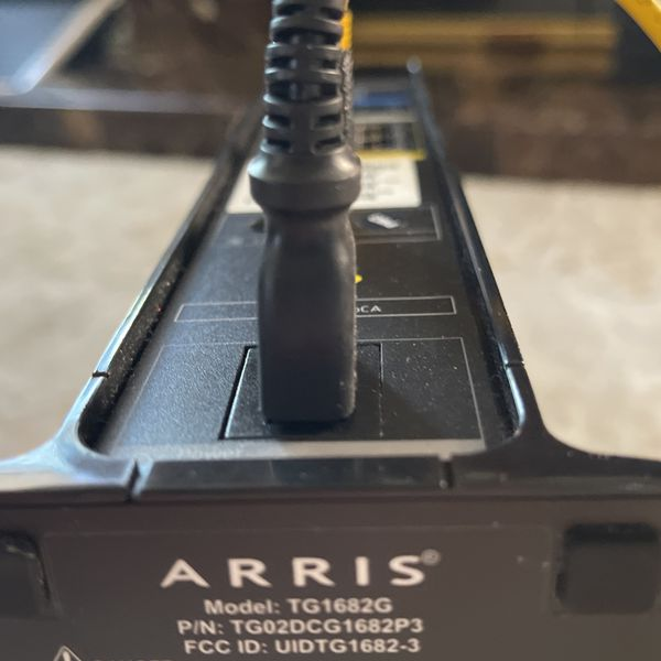 Arris TG1682G Dual Band Modem/router for Cox