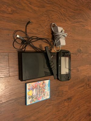 Wii U 32 GB BLACK for Sale in Reedley, CA