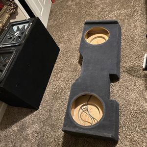 Box For 2 12's for Sale in Bakersfield, CA