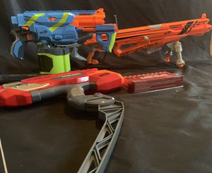 ****NERF GUNS - LOT OF 3 with brand new MEGA DARTS***** for Sale in Pembroke Pines, FL