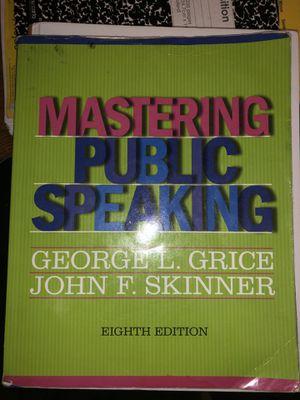 Mastering public speaking for Sale in Hillsboro, OR