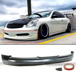 03-07 G35 2DR Coupe Gialla GL VIP Style PU Front Bumper Lip Body Kit Add On for Sale in Pomona, CA