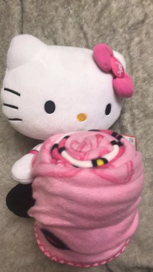 Hello Kitty Baseball Blanket for Sale in Ontario, CA