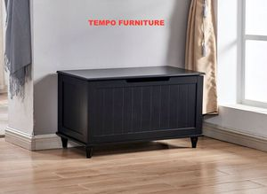 Black Storage Bench, #6608 for Sale in Santa Fe Springs, CA