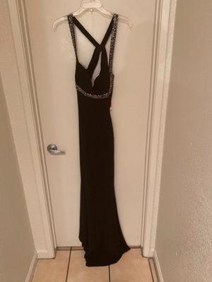 Black full length evening dress for Sale in Stockton, CA