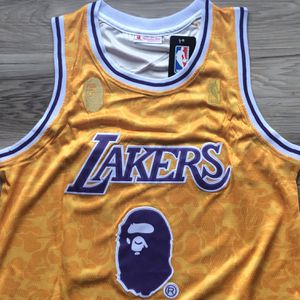 BRAND NEW! 🔥 LeBron James #23 Los Angeles Lakers BAPE Jersey + SIZE MEDIUM + SHIPS OUT TODAY! 📦💨 for Sale in Los Angeles, CA