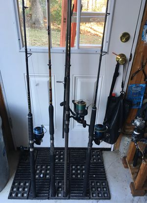 Fishing rids&reels for Sale in Attleboro, MA