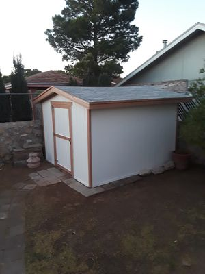 12x12 sheds all labor and materials including for Sale in El Paso, TX