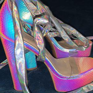 Chrome High Heels for Sale in Everett, WA