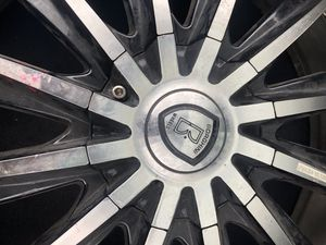 Rims tires 22 inch for Sale in Los Angeles, CA