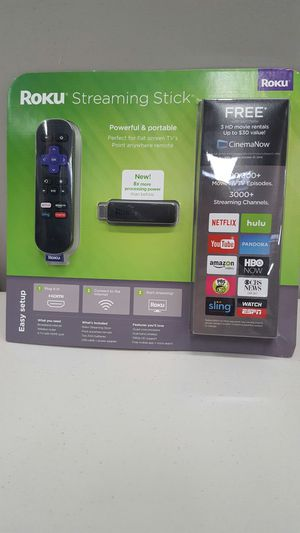 Roku streaming stick for Sale in Raleigh, NC