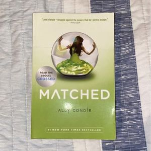 Matched By Ally Condie for Sale in Warrenville, IL