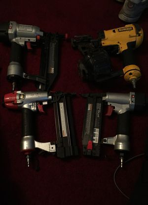 Power tools Nail gun and staple gun for Sale in Washington, DC