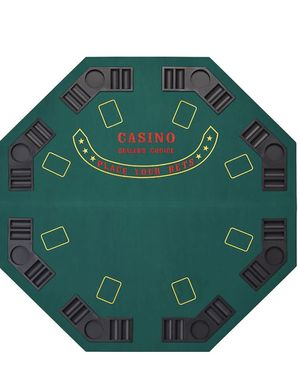 Premium poker table and chip set for Sale in Edgewood, MD