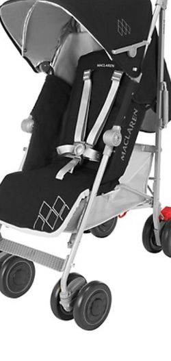A Maclaren Stroller Color Is Black Very Very Nice Very Easy To Store It Was Used 3x for Sale in Maryville,  TN