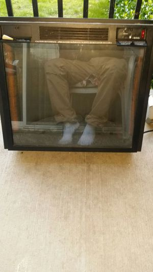 FEBO FLAME ELECTRIC FIREPLACE for Sale in Alexandria, VA