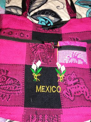 2 PIECE BAG FROM MEXICO BEAUTIFUL for Sale in Bakersfield, CA