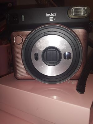 Brand new Pink & Gold Instax SQ 6 instant camera for sale for Sale in El Cajon, CA