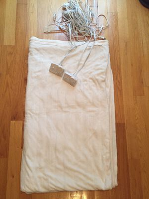 Electric Blanket- King size for Sale in Chicago, IL
