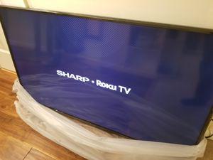 "Sharp 50"" 4K Smart TV (brand new in box) for Sale in Crofton, MD"